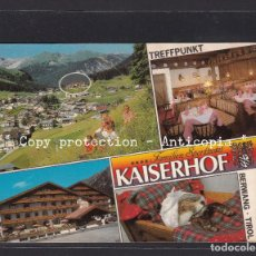Postales: POSTAL DE ALEMANIA - TREFFPUNKT FAMILIEN SPORTHOTEL KAISERHOF BERWANG - TIROL. Lote 261925505