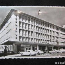 Postales: LAUSANNE-HOTEL TERMINUS-POSTAL ANTIGUA-(80.589). Lote 262631265