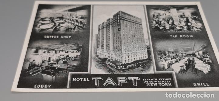 HOTEL, HOTEL TAFT, NEW YORK, USA, SIN CIRCULAR (Postales - Postales Temáticas - Hoteles y Balnearios)