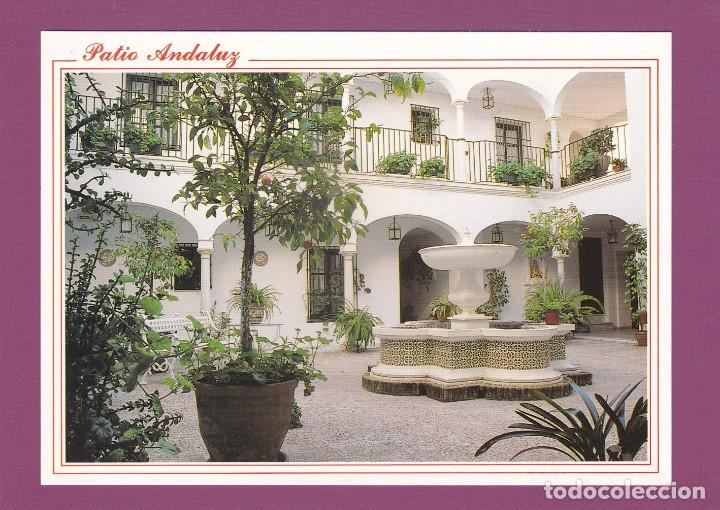 POSAL HOTEL LOS HELECHOS. SANLUCAR DE BARRAMEDA. CADIZ (1995) - PATIO ANDALUZ - COSTA DE LA LUZ (Postales - Postales Temáticas - Hoteles y Balnearios)