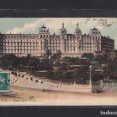 Postales: POSTAL DE FRANCIA - 64 NICE. - REGINA HOTEL. 1910 - 06 ALPES MARITIMES FRANCE. Lote 268950359