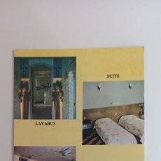 Postales: POSTAL PUBLICITARIA HOTEL LIDO. RÍO DE JANEIRO.. Lote 270933703