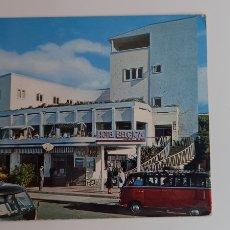 Postales: POSTAL HOTEL BÉLGICA Y PASEO COLÓN. Lote 270934663