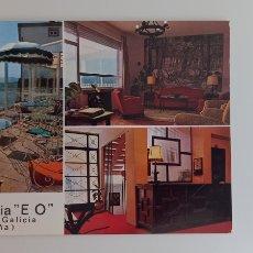 Postales: POSTAL HOTEL RESIDENCIA EO. RIBADEO, LUGO. FOTO SÁEZ. Lote 270937023