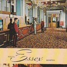 Postales: ESTADOS UNIDOS ** & POSTAL, BOSTON, HOTEL ESSEX (9668). Lote 271041958