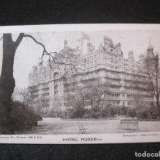 Postales: LONDON-HOTEL RUSSELL-POSTAL ANTIGUA-(81.978). Lote 271407793