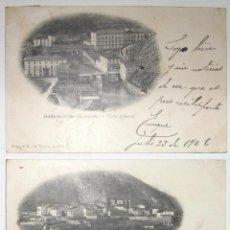 Postales: DOS POSTALES DE CESTONA. H. Y M. GUIBERT. CIRCULADAS Y SIN DIVIDIR. 1906.. Lote 275998903