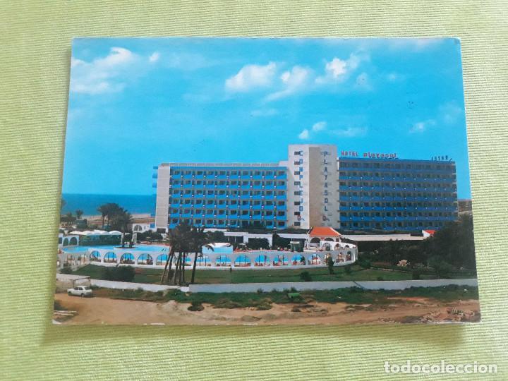 ALMERIA - HOTEL PLAYASOL - URBANIZACIÓN ROQUETAS DE MAR - AÑO 1985 (Postales - Postales Temáticas - Hoteles y Balnearios)
