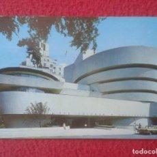 Postales: POST CARD ESTADOS UNIDOS NEW NUEVA YORK USA MUSEO MUSEUM GUGGENHEIM TAXI DE ÉPOCA..UNITED STATES..... Lote 276555823