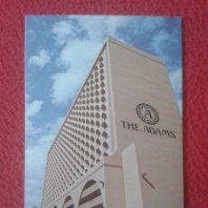 Postales: POST CARD CARTE POSTALE THE ADAMS HOTEL PHOENIX ARIZONA USA ESTADOS UNIDOS UNITED STATES COCHES CARS. Lote 277115653