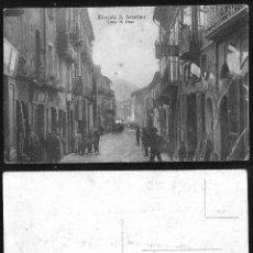 Postales: 1134 - ITALIA SALERNO CAMPANIA / MERCATO S. SEVERINO CORSO A. DIAZ / HOTEL ALBERGO POSTAL 1910'. Lote 277154918