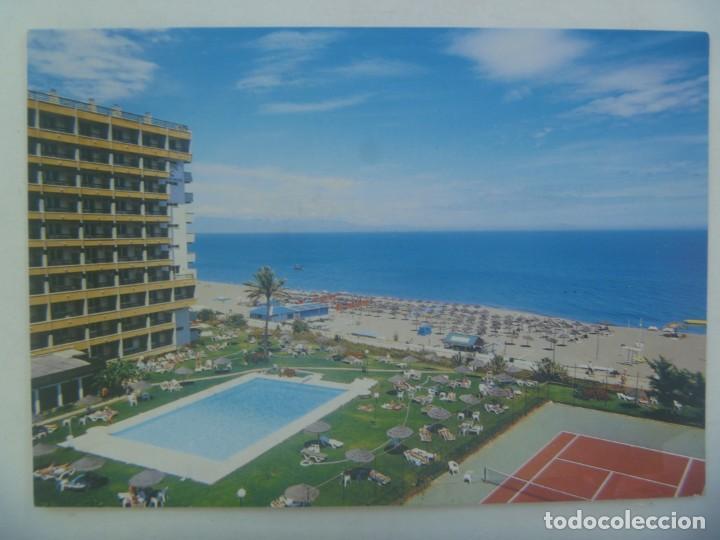 POSTAL DEL HOTEL LA BARRACUDA DE TORREMOLINOS ( MALAGA ) (Postales - Postales Temáticas - Hoteles y Balnearios)