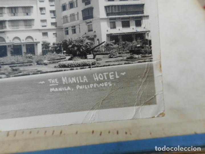 Postales: ANTIGUA POSTAL FOTOGRAFICA.THE MANILA HOTEL.PHILIPPINES.FILIPINAS 1956 - Foto 2 - 277514103
