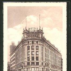 Postales: MADRID - HOTEL NACIONAL. Lote 277584543