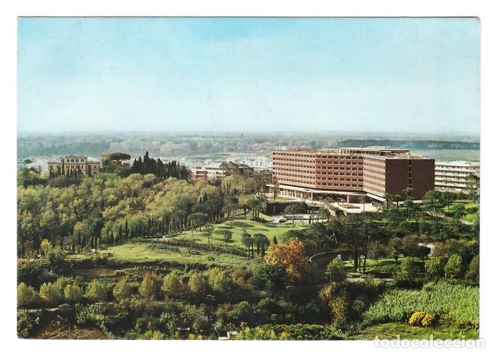 ROMA (ITALIA) - HOTEL CAVALIERI HILTON - SIN CIRCULAR (Postales - Postales Temáticas - Hoteles y Balnearios)