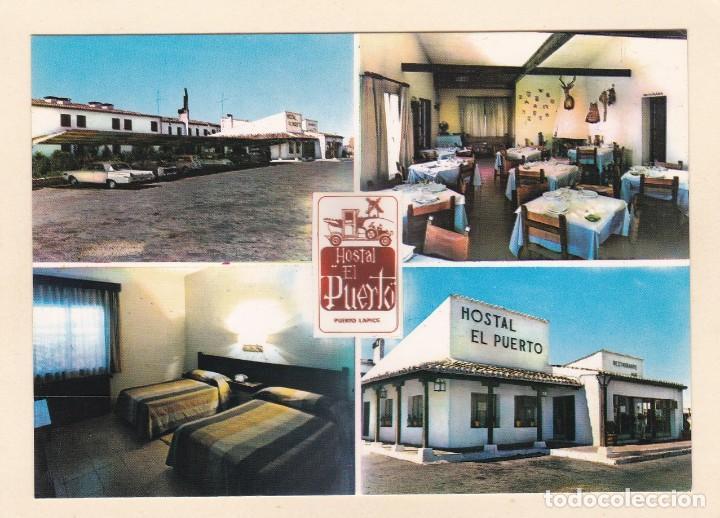 PUERTO LÁPICE (CIUDAD REAL). HOTEL RESIDENCIA EL PUERTO. CONJUNTO D INSTALACIONES (1968) - LA MANCHA (Postales - Postales Temáticas - Hoteles y Balnearios)