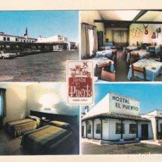 Postales: PUERTO LÁPICE (CIUDAD REAL). HOTEL RESIDENCIA EL PUERTO. CONJUNTO D INSTALACIONES (1968) - LA MANCHA. Lote 278267233