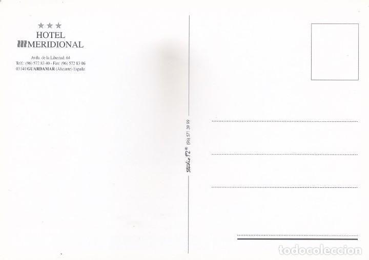 Postales: HOTEL MERIDIONAL. GUARDAMAR (ALICANTE) - Foto 2 - 278518213