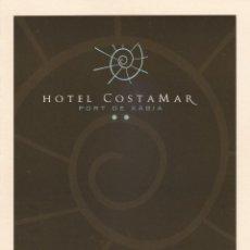 Postales: HOTEL COSTAMAR. XABIA (ALICANTE). Lote 278518938