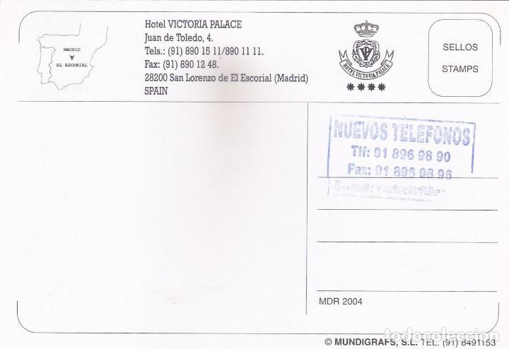 Postales: HOTEL VICTORIA PALACE. SAN LORENZO DEL ESCORIAL. MADRID (2004) - Foto 2 - 278519948
