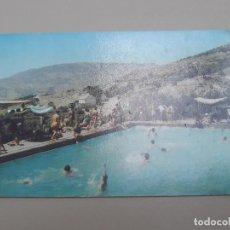 Postales: SERIE B. 126. - BALNEARIO Y AGUAS DE LANJARÓN. LANJARÓN (SIERRA NEVADA) - VISTA PARCIAL DE PISCINA. Lote 278828683