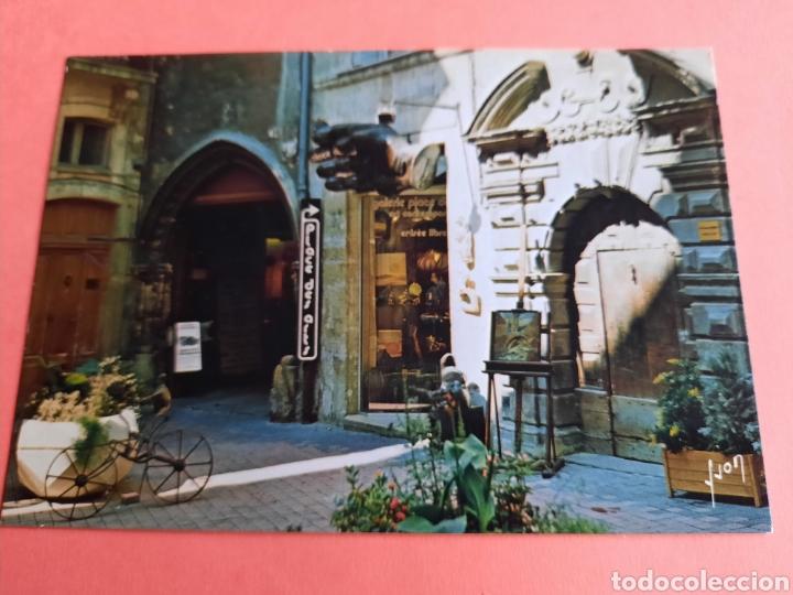 POSTAL MONTPELLIER- FRANCIA CALLE ARGENTIERE (Postales - Postales Temáticas - Hoteles y Balnearios)