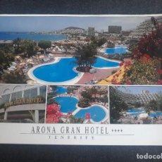 Postales: ARONA GRAN HOTEL - LOS CRISTIANOS - ARONA - TENERIFE - ISLAS CANARIAS. Lote 285266853