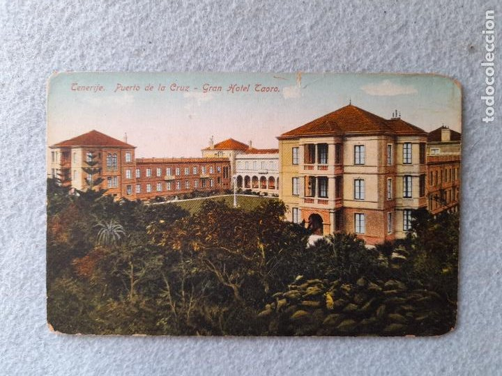 TENERIFE. PUERTO DE LA CRUZ. GRAN HOTEL TAORO (Postales - Postales Temáticas - Hoteles y Balnearios)