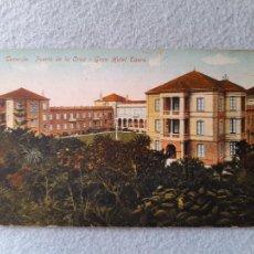 Postales: TENERIFE. PUERTO DE LA CRUZ. GRAN HOTEL TAORO. Lote 285994953