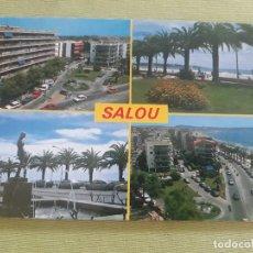 Postales: SALOU - PLAZA VENUS Y PASEO MIRAMAR - Nº 56 - ED. RAYMOND. Lote 287074123