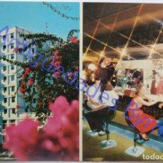 Postales: HOTEL SAN MIGUEL. SANTA CRUZ DE LA PALMA. PUBLI GET. LAS PALMAS. Lote 290650823