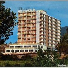 Postales: MÁLAGA, BENALMÁDENA HOTEL LOS PATOS. EDICIONES CINEFILM CIRCULADA 1974.. Lote 290857143