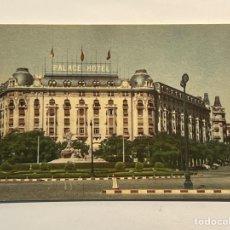 Postales: MADRID. POSTAL NO.14, EL HOTEL PALACE. EDIC. MAYFE (H.1960?) DEDICADA... Lote 293691608