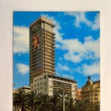 Postales: ALICANTE. POSTAL NO.151, HOTEL GRAN SOL - HOTEL CARLTON. EXPLANADA DE ESPAÑA Y PUERTO. Lote 293726303
