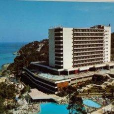 Postales: MALLORCA, MAGALUF HOTEL ANTILLÁS. SELLO LUGO 1977. Lote 294463618