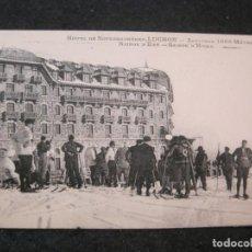 Postales: LUCHON-HOTEL DE SUPERBAGNERES-POSTAL ANTIGUA-(85.215). Lote 295532258