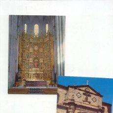 Postales: DOS POSTALES DE SANTO DOMINGO DE LA CALZADA --.SIN CIRCULAR--. Lote 4065874