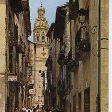 Haro Calle Santo Tomás años 60 La Rioja