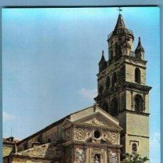 Postales: CATEDRALES DE ESPAÑA. Nº 4 CALAHORRA(LOGROÑO). EDICIONES VISTABELLA - MADRID . PUBLICIDAD EN REVERSO. Lote 8933998
