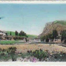 Postales: POSTAL DE EZCARAY Nº12, LA PLAYA, CIRCULADA. Lote 7735384