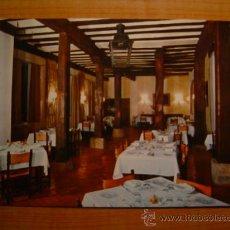 Postales: POSTA PARADOR NACIONAL DE SANTO DOMINGO LA CALZADA SIN CIRCULAR. Lote 8868478