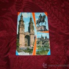 Postales: LOGROÑO BELLEZAS DE LA CIUDAD,GARCIA GARRABELLA . Lote 9137662
