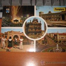 Postales: PLAZA DEL CASTILLO PAMPLONA. Lote 10524038