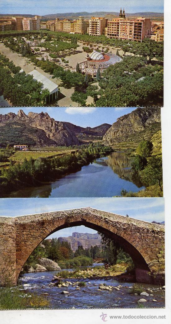 LOGROÑO - 3 POSTALES - (Postales - España - La Rioja Moderna (desde 1.940))