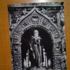 Postales: TARJETA POSTAL SANTO DOMINGO DE LA CALZADA CATEDRAL ALTAR DE SANTO DOMINGO SIN CIRCULAR. Lote 10836420