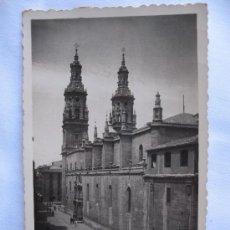 Postales: LOGROÑO - CATEDRAL. Lote 11506237