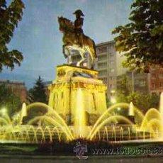 Postales: LOGROÑO - ESTATUA DEL GENERAL ESPARTERO (NOCTURNA). Lote 11798307