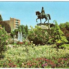 Postales: BONITA POSTAL - LOGROÑO - PLAZA DEL ESPOLON - MONUMENTO AL GENERAL ESPARTERO . Lote 14721264