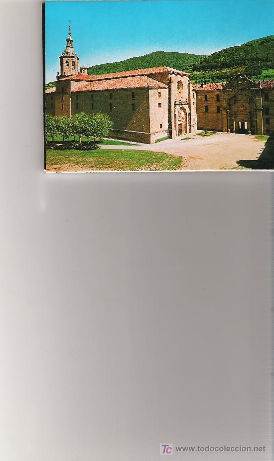 MONASTERIO DE SAN MILLAN DE YUSO - BLOCK CON 10 IMAGENES - ESCUDO DE ORO - (Postales - España - La Rioja Moderna (desde 1.940))