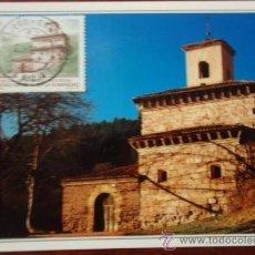 Postales: POSTAL SAN MILLAN DE LA COCOLLA (LA RIOJA). Lote 20115411